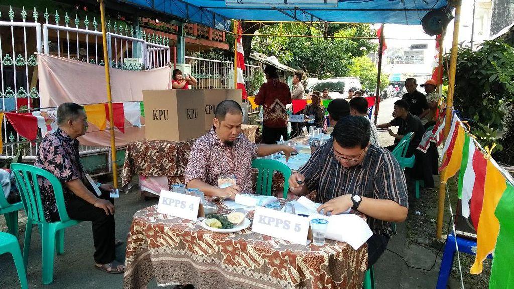 Nyoblos Ulang di 4 TPS di Tangerang, Total Suara 2 Paslon Berkurang