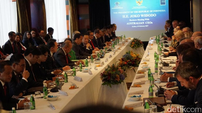 Di Depan Pengusaha Australia, Jokowi Singgung Soal Pilkada DKI