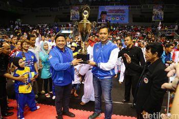 Agus Yudhoyono Buka Turnamen Karate SBY Cup