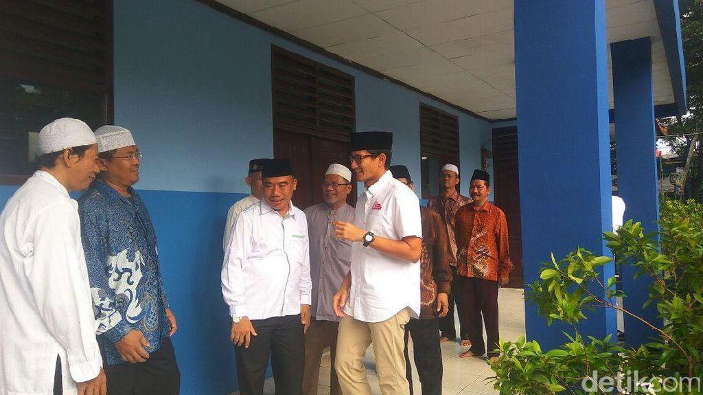 Bertemu PKB Jaktim, Sandiaga: Kami Ditemukan dengan Sahabat Lama