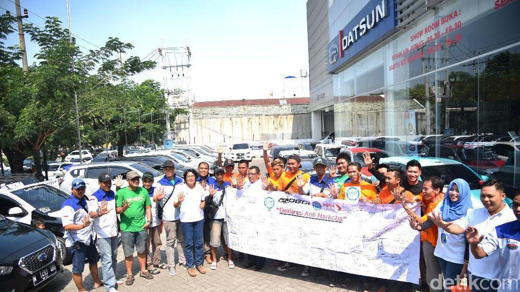 Komunitas Datsun Deklarasikan Anti Narkoba