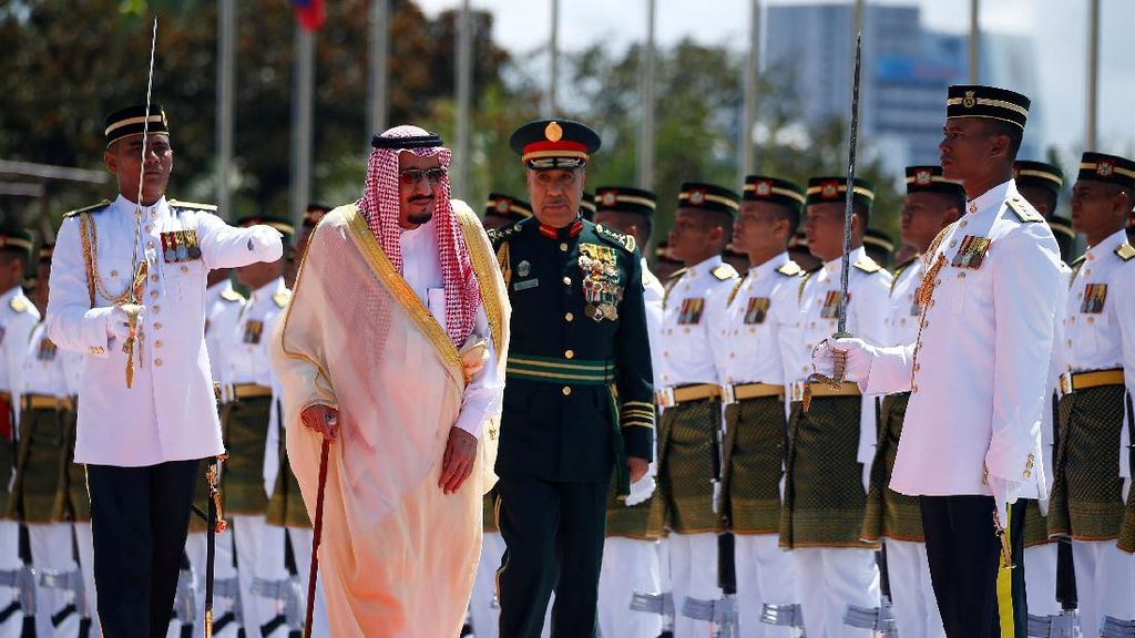 Raja Salman Kunjungi Malaysia, Kerjasama Energi Bakal Diteken