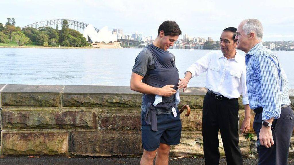 Turnbull-Jokowi Sepakat Tingkatkan Kerjasama Cegah Terorisme