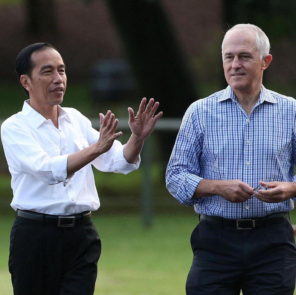 Jokowi: Semua Masalah Selesai Saat Saya Diajak Makan PM Turnbull