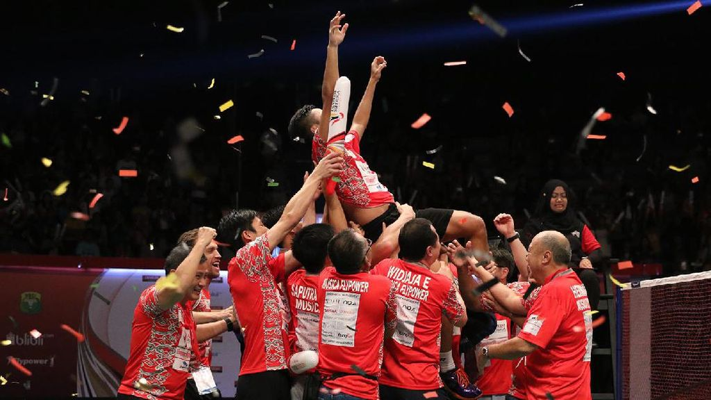 Menangi Laga Vs Djarum, Musica Champions Juara Superliga Badminton 2017