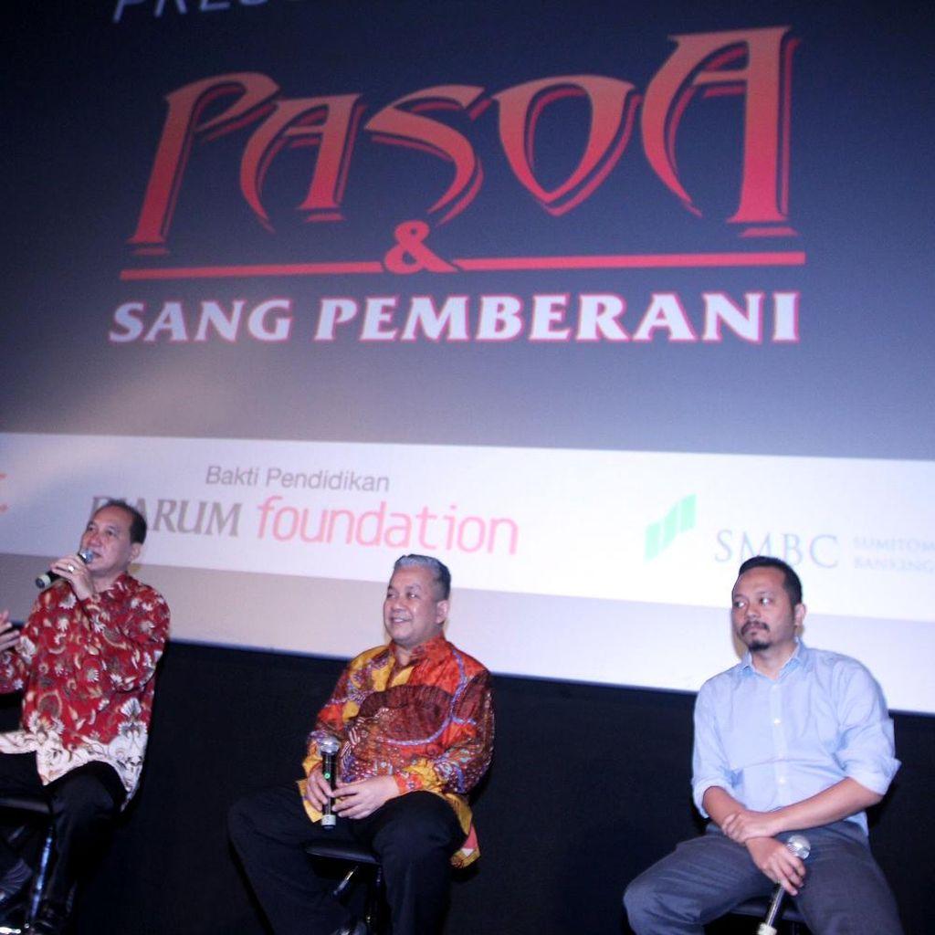 Ada Tria Changcuters sampai Isyana di Film Pasoa dan Sang Pemberani
