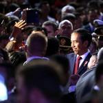 Di Sydney Jokowi Banggakan MRT, Trans Papua Hingga PLBN
