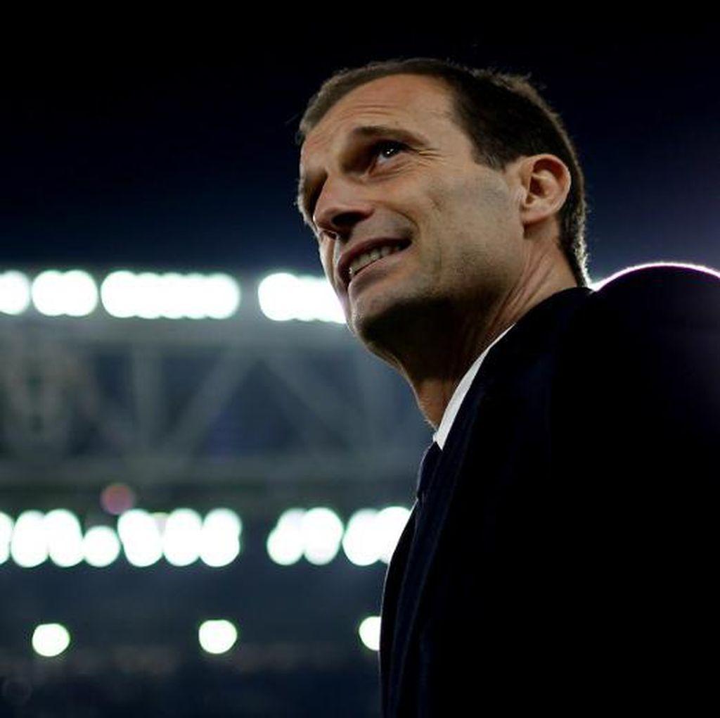 Akan Nonton Inter vs Roma, Allegri Dukung Siapa?