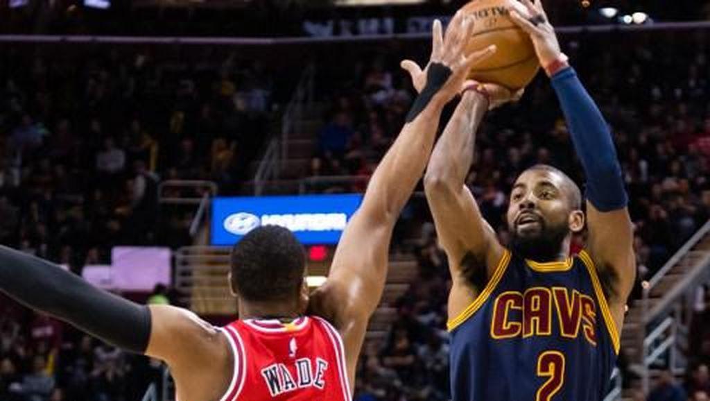 Wade 20 Poin, Bulls Kalahkan Cavaliers yang Tanpa LeBron James