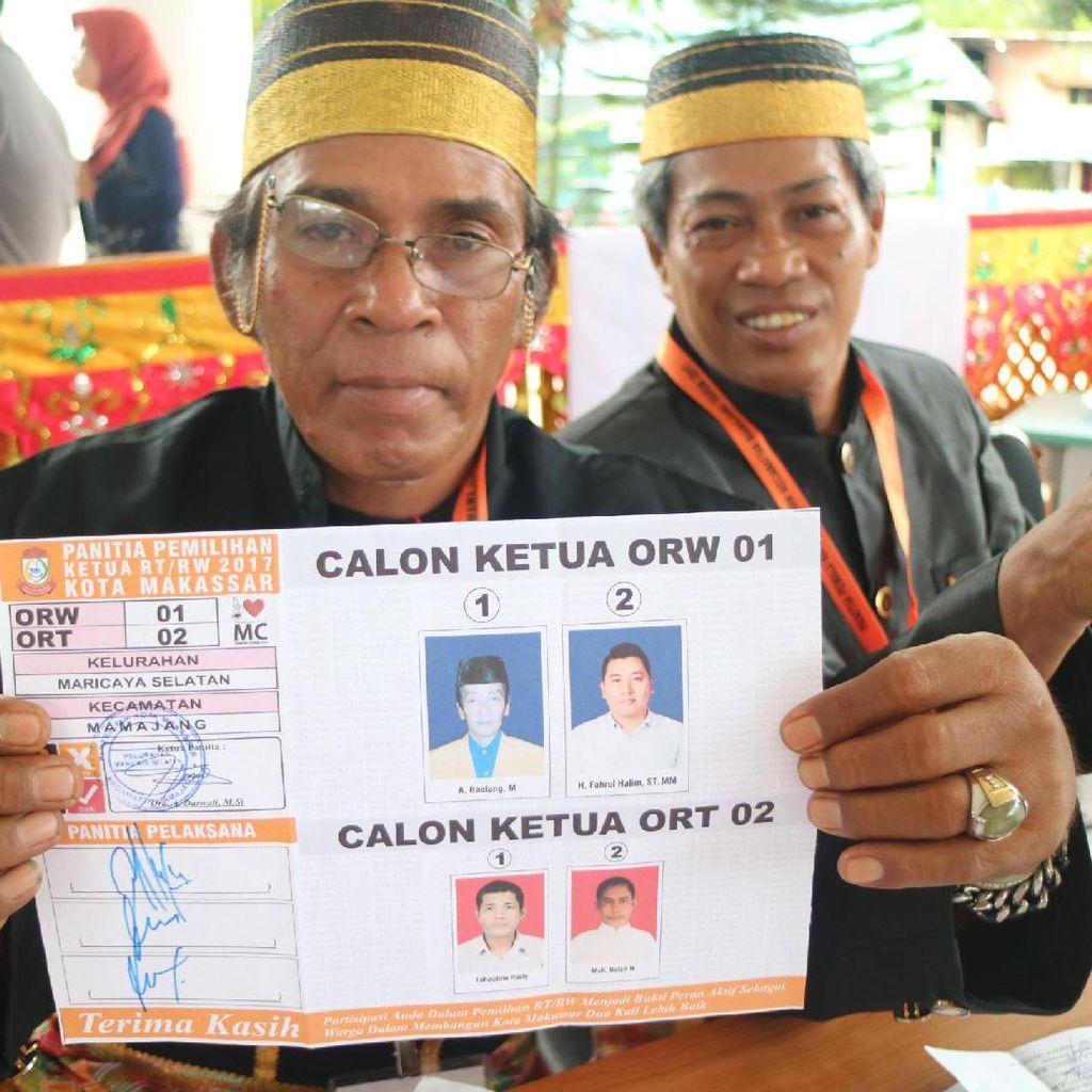Makassar Gelar Pemilihan Ketua RT-RW Serentak di 153 Kelurahan