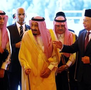 Dikunjungi Raja Salman, Malaysia Raup Investasi Rp 93 Triliun