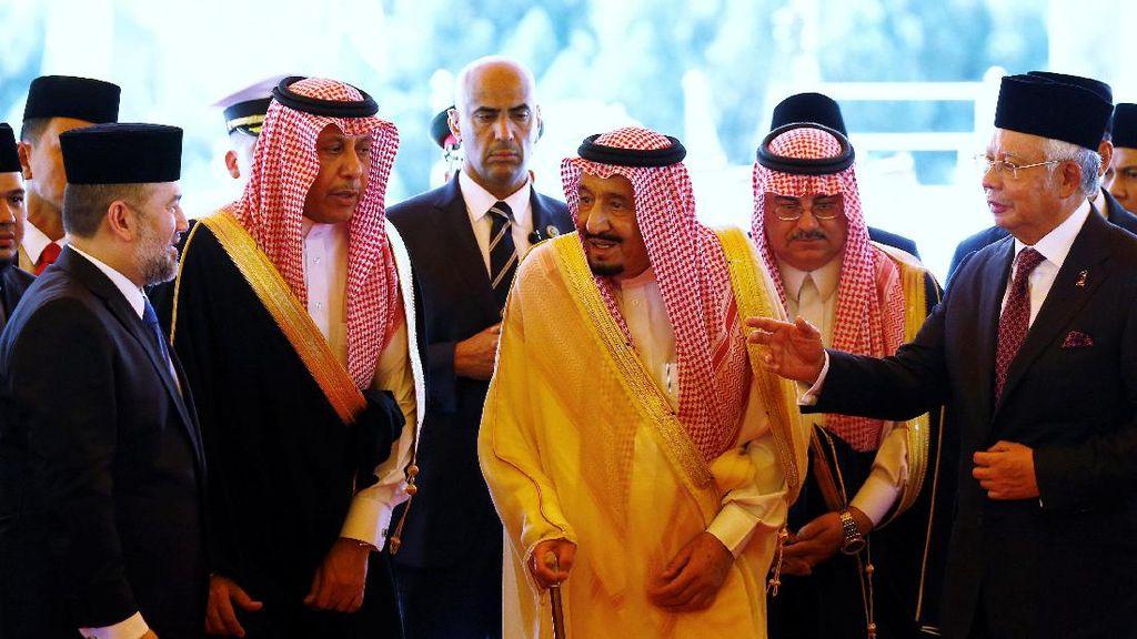 Raja Salman Bawa 600 Delegasi ke Malaysia