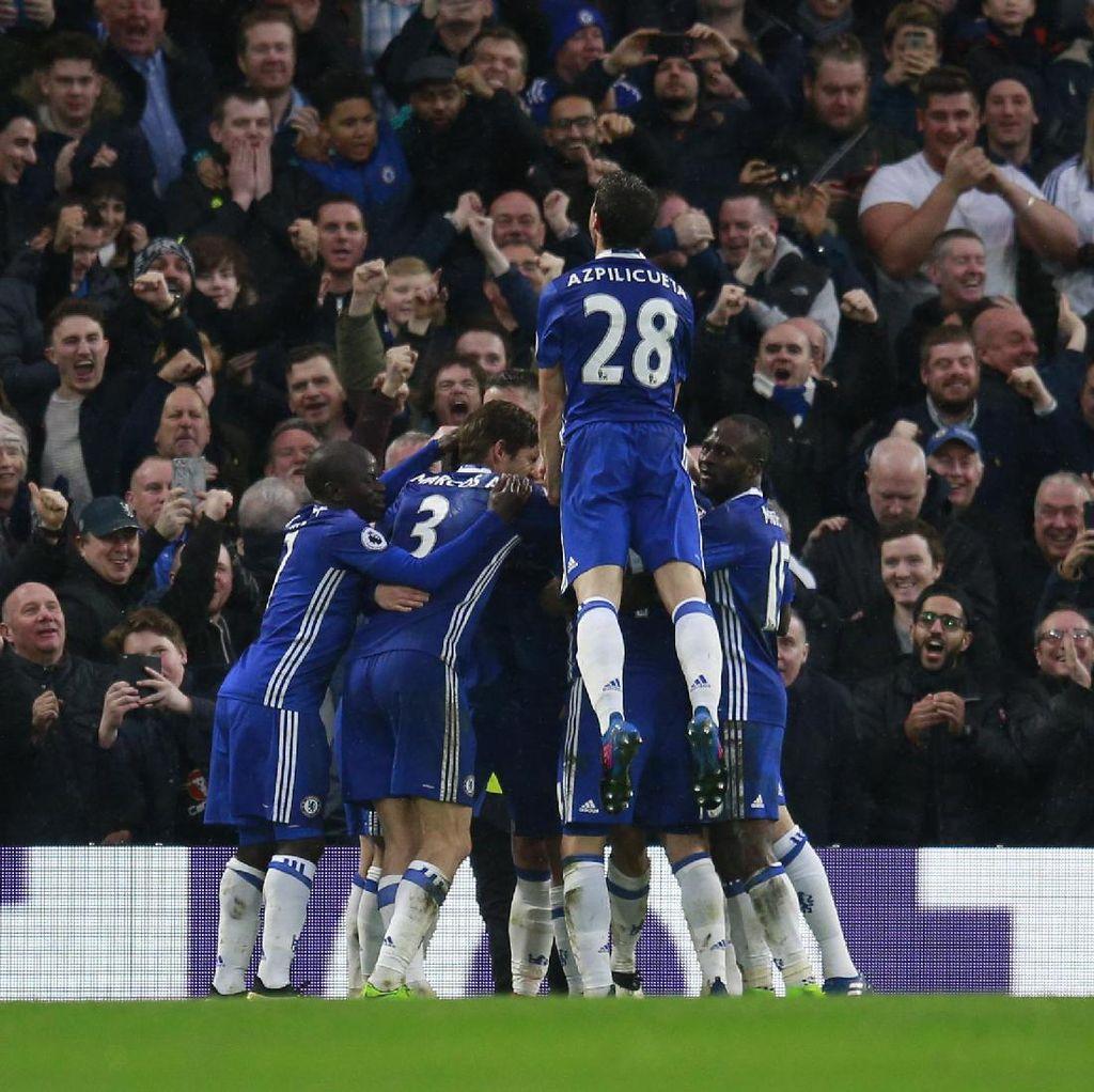 Conte: Chelsea Butuh 29 Poin Lagi untuk Juara