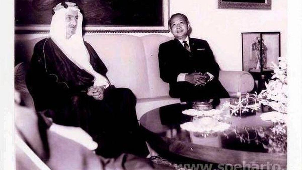 Kisah Kunjungan Raja Faisal ke Indonesia 47 Tahun Silam