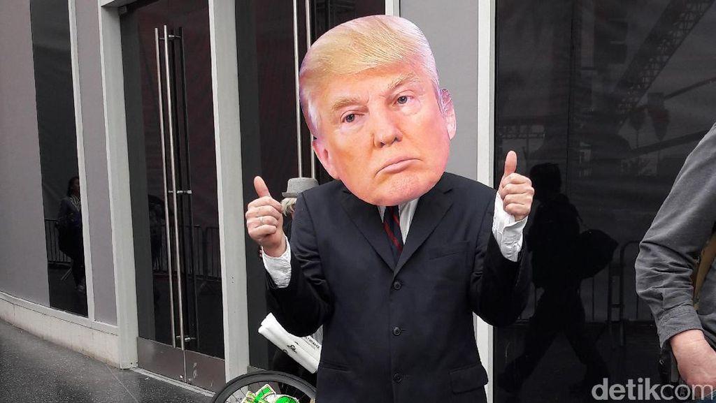 Pendukung Trump Ikut Ramaikan Venue Oscar 2017