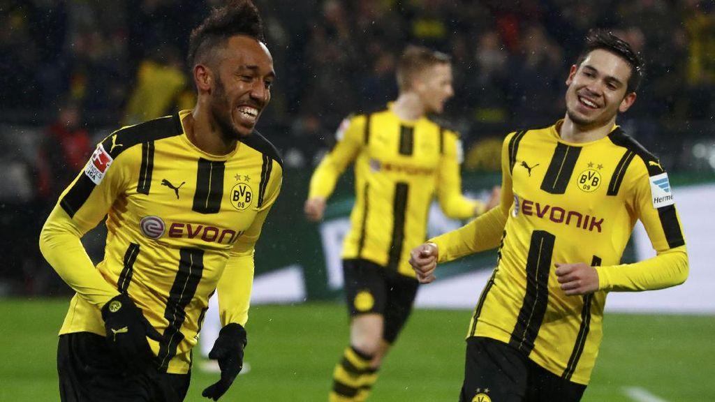 Dortmund Lumat Freiburg 3-0