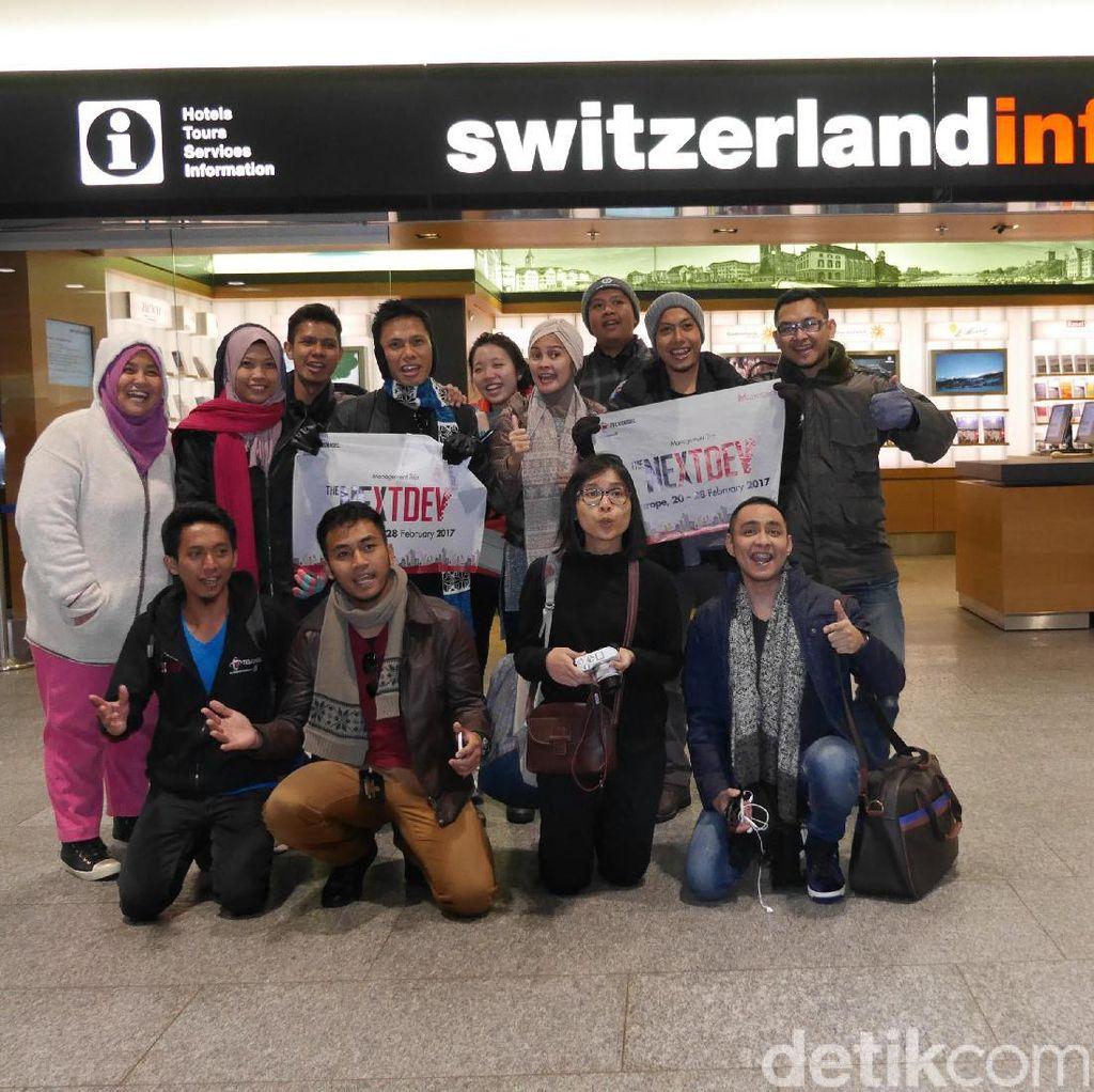 Tiga Pemenang The NextDev Pelesir ke Benua Biru