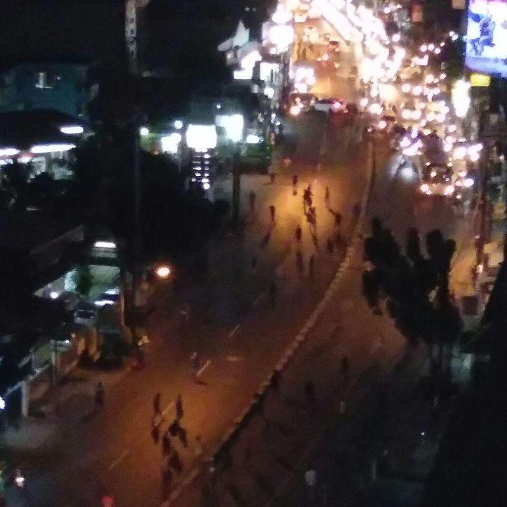 Tawuran Remaja di Cawang Otista, Lalin Sempat Tersendat