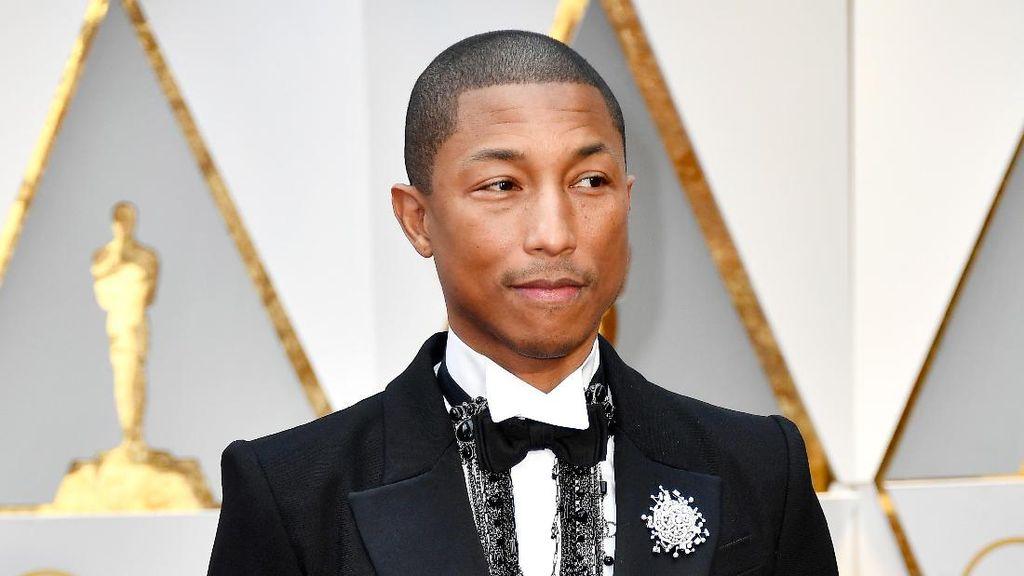 Rahasia Wajah Awet Muda Pharrell Williams di Usia 44