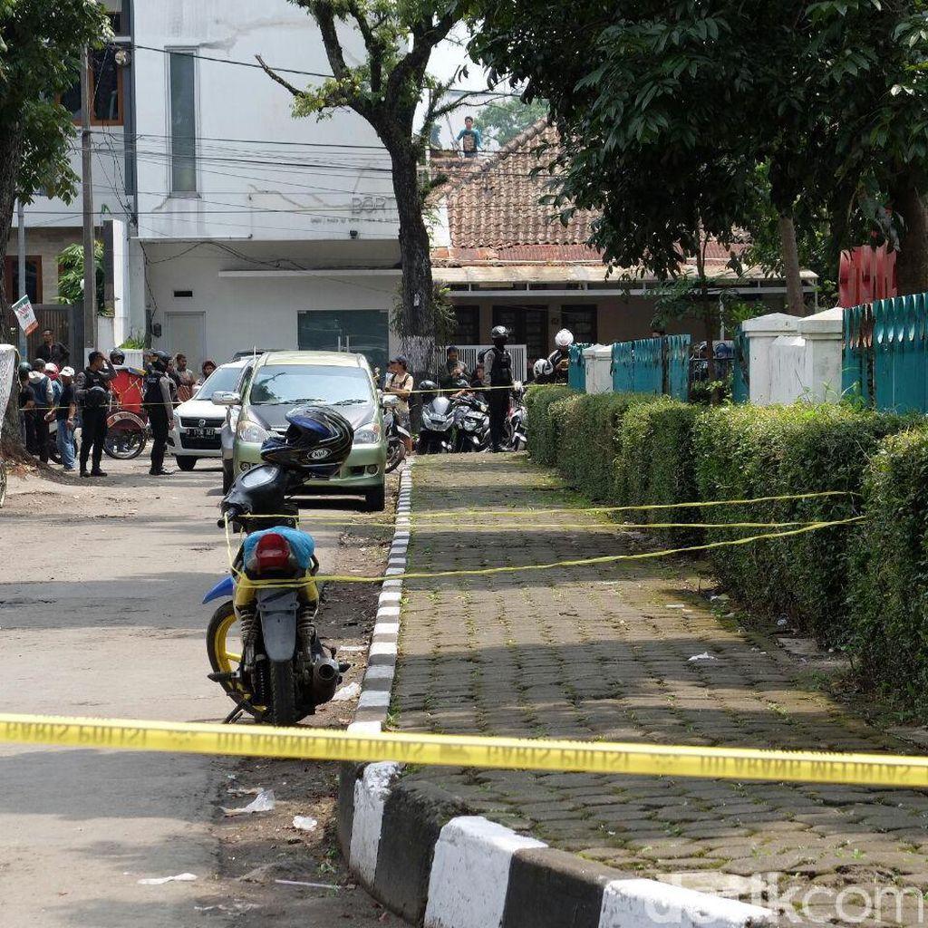 Polda Jabar Kirim Tim Tertutup Amankan Lokasi Bom Panci