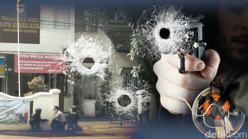 Pelaku Bom Panci Tewas dalam Perjalanan ke RS