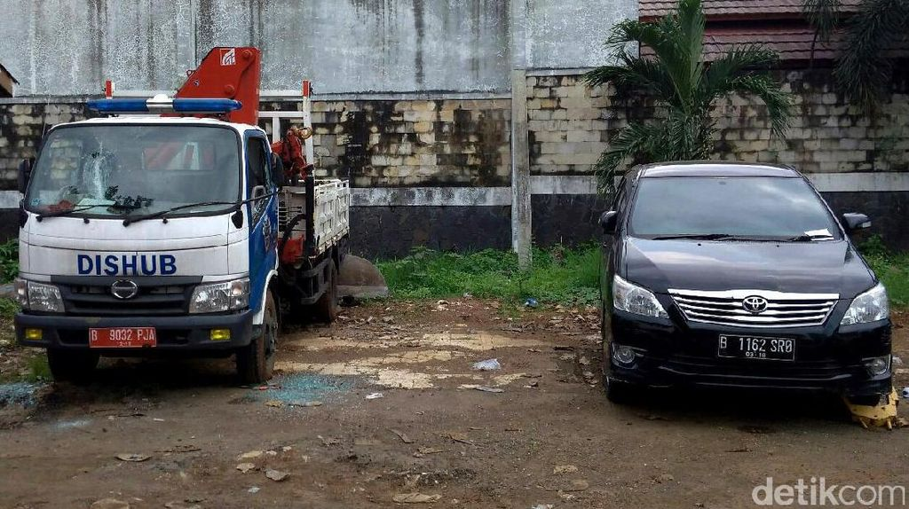 Aksi AM Rusak Mobil Dishub karena Emoh Bayar Denda Rp 2,5 Juta
