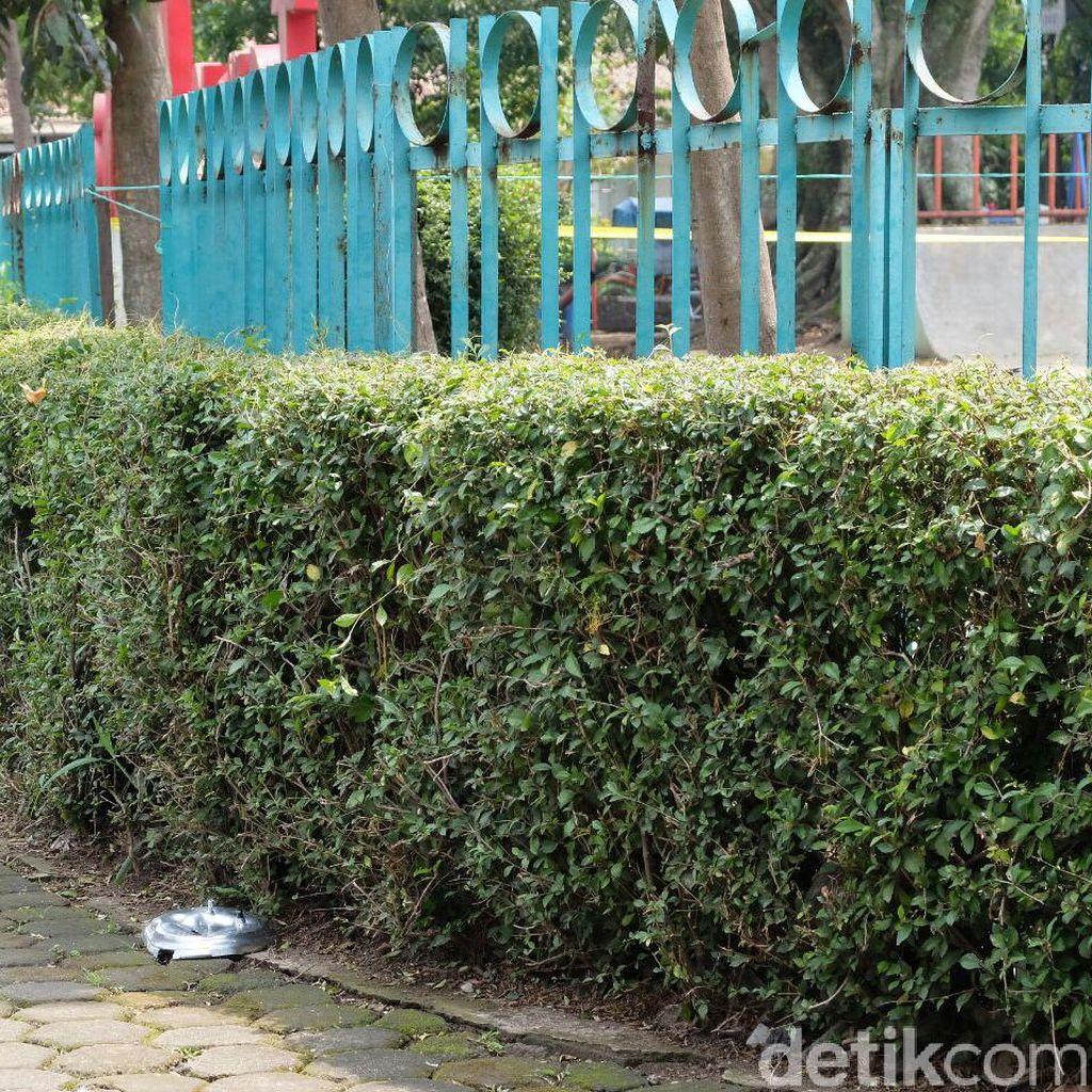 Polisi Amankan Tutup Panci dari Bom yang Diledakkan di Bandung