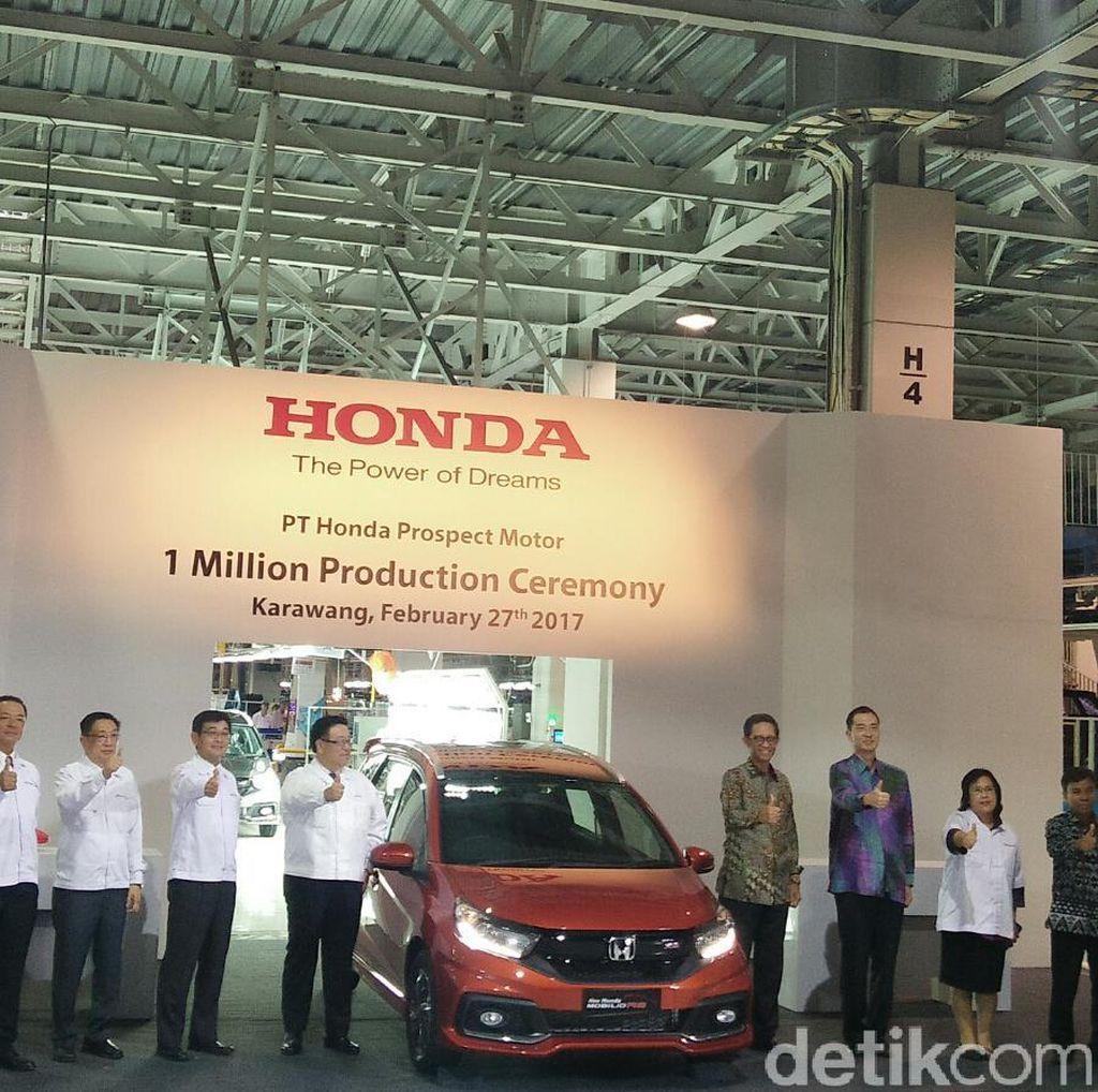 Honda Ingin Tambah Kapasitas Produksi Mobil
