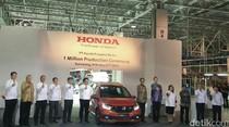 Honda Produksi 1 Juta Mobil di Indonesia