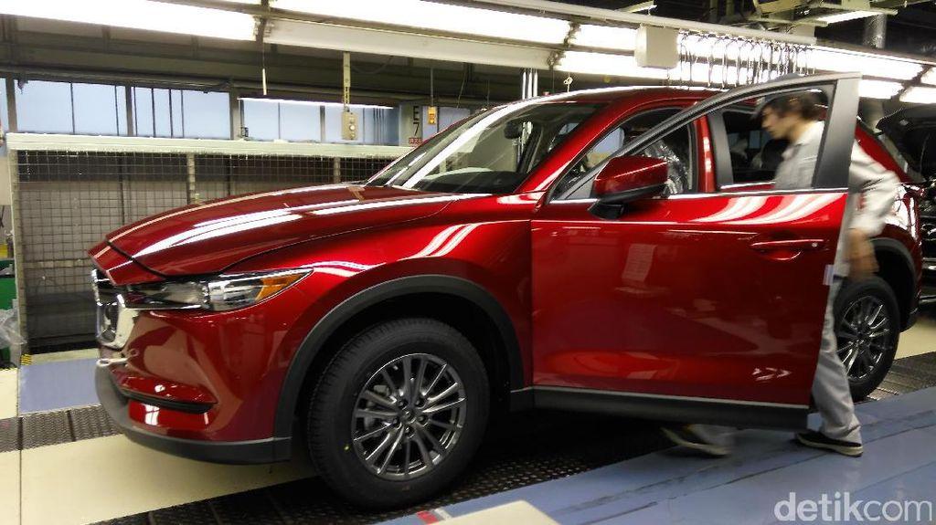 Melihat Proses Kelahiran Mazda CX-5 di Hiroshima