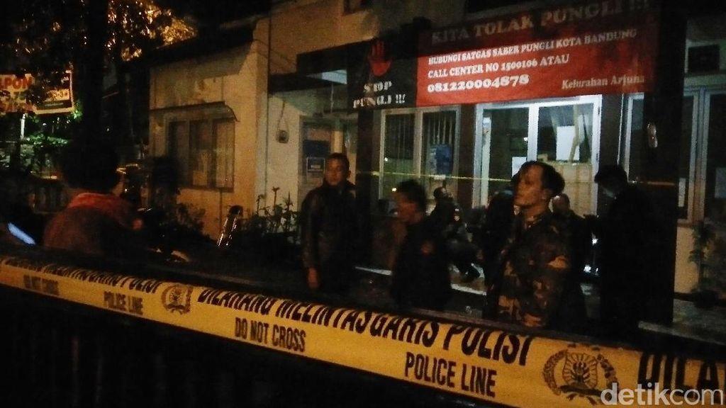 Bom Panci di Bandung, Kantor Kelurahan Arjuna Dijaga Aparat