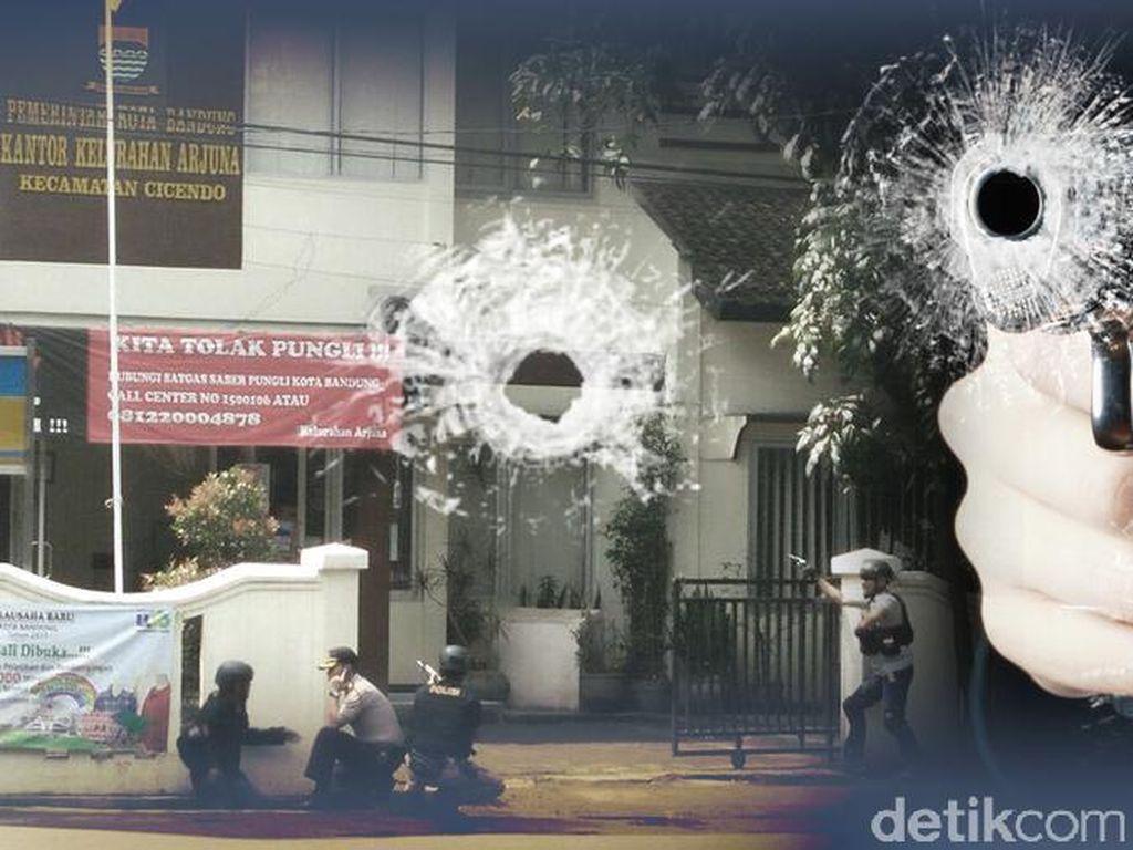 Mencekam, Begini Suasana Penyergapan Pelaku Bom Panci di Bandung