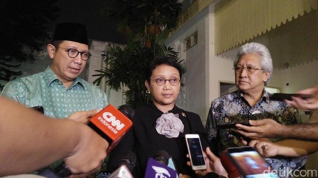 Menlu dan Menag Lapor Persiapan Sambut Raja Salman ke Jokowi