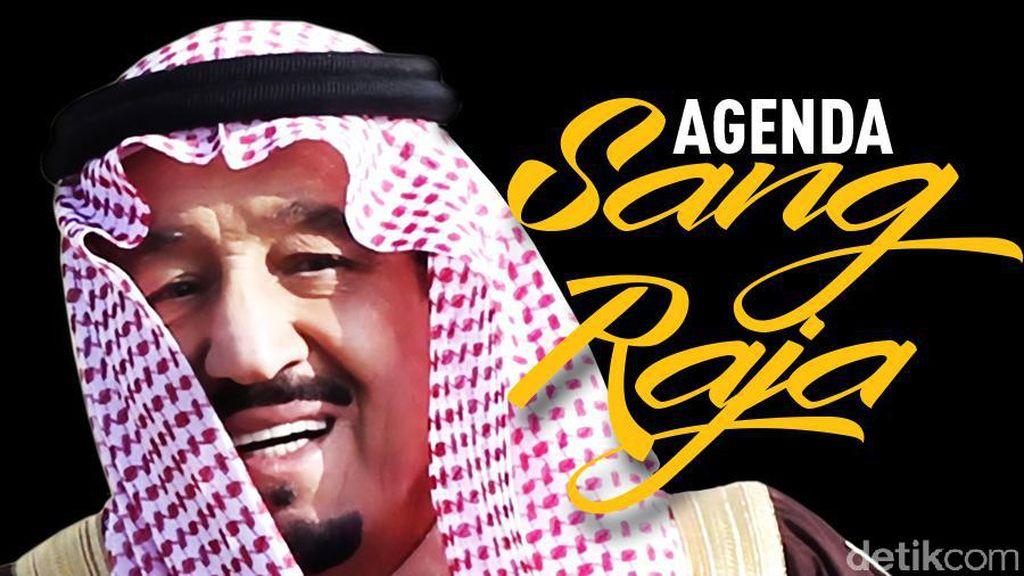 Hidangan Laut Akan Disajikan untuk Raja Salman di Istana Bogor