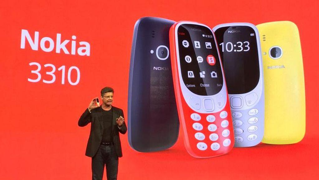 Nokia 3310 Resmi Bangkit dari Kubur di Barcelona