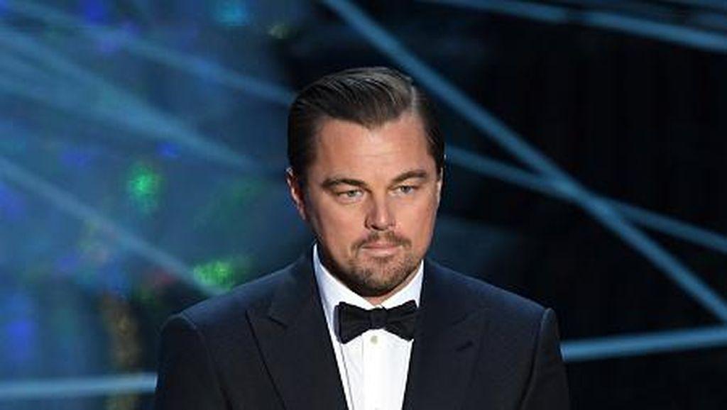 Wanita Ini Didatangkan ke Oscar untuk Rapikan Alis Leonardo DiCaprio
