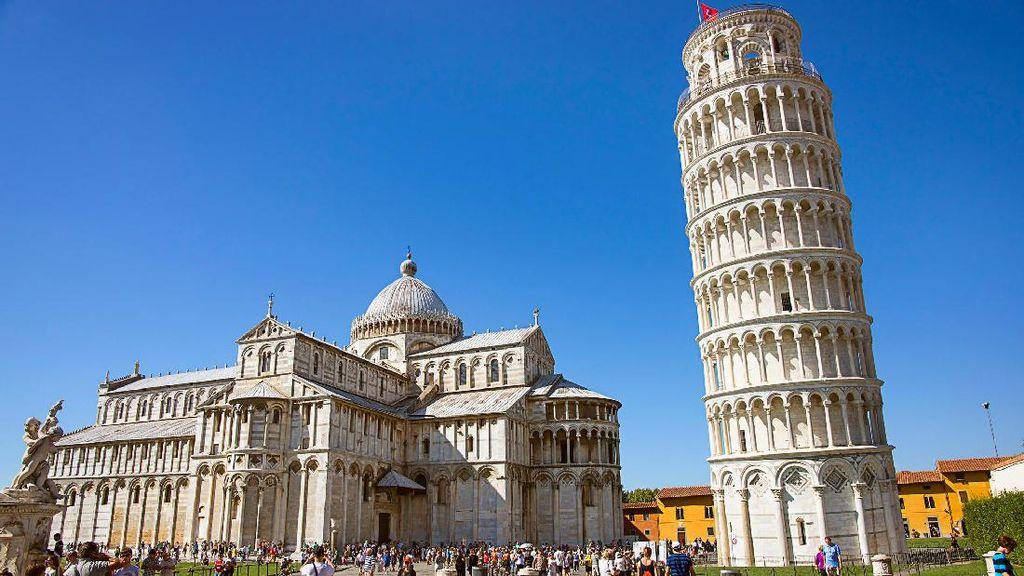 Teman Baru untuk Menara Pisa Italia