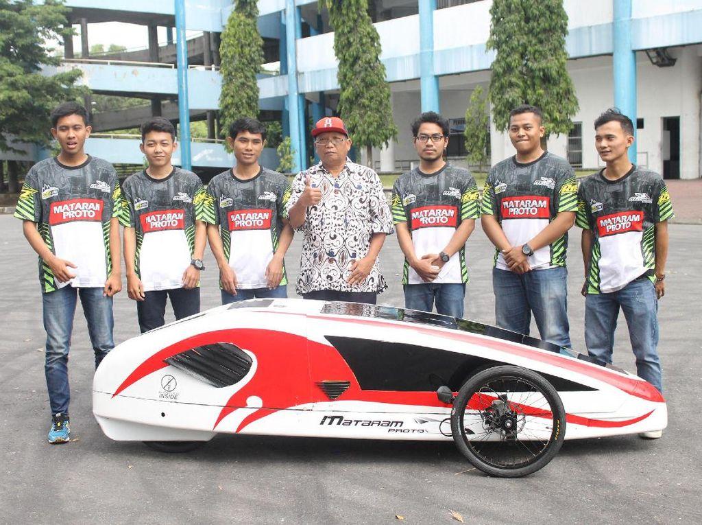 Mobil Hemat Energi Karya Mahasiswa Yogyakarta Berlaga di Singapura