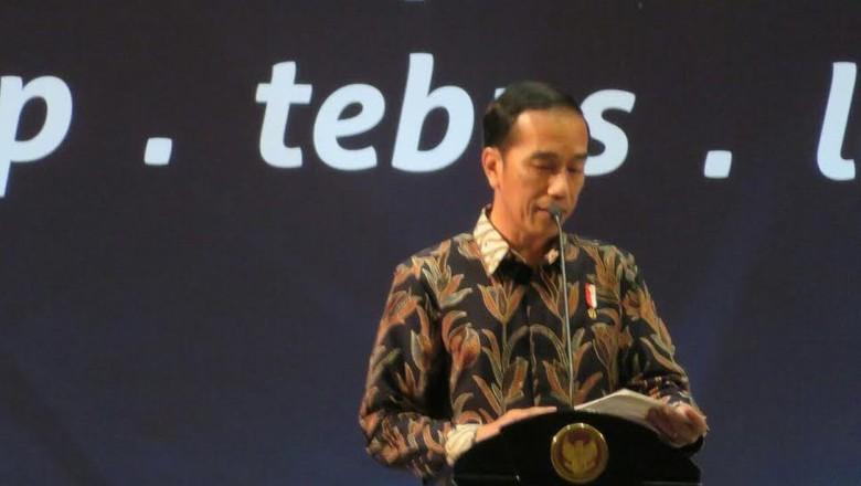 Jokowi: Pembangunan Perbatasan, MRT, Hingga Jalan Tol dari Pajak
