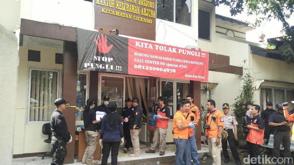 Shock Insiden Teror Bom Panci, Pegawai Kelurahan Arjuna Diliburkan