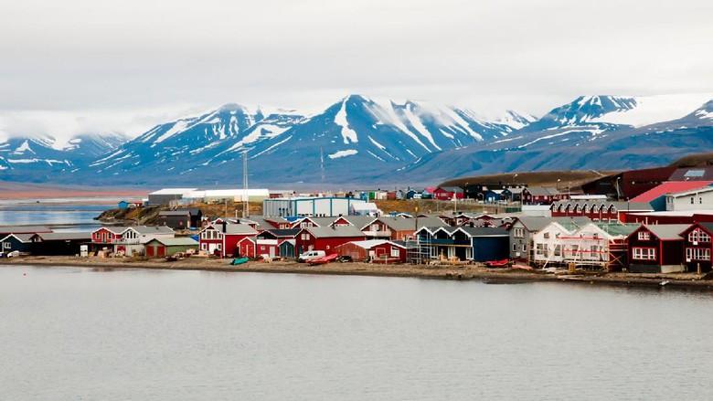 Foto: Longyearbyen, kota tanpa kuburan (Thinkstock)