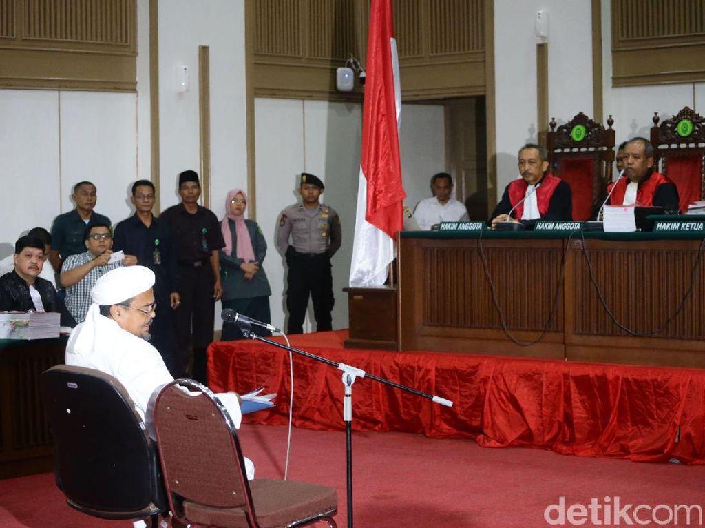 Di Sidang Ahok, Habib Rizieq Jelaskan Arti Aulia di Al-Maidah 51