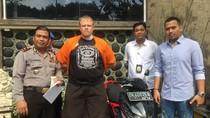 Polisi Tangkap WN Irlandia karena Mencuri Motor