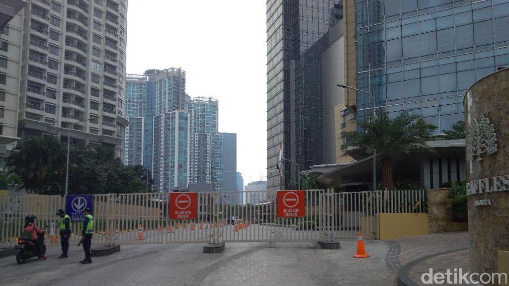 Sambut Rombongan Raja Salman, Hotel Raffles Tutup sejak Minggu