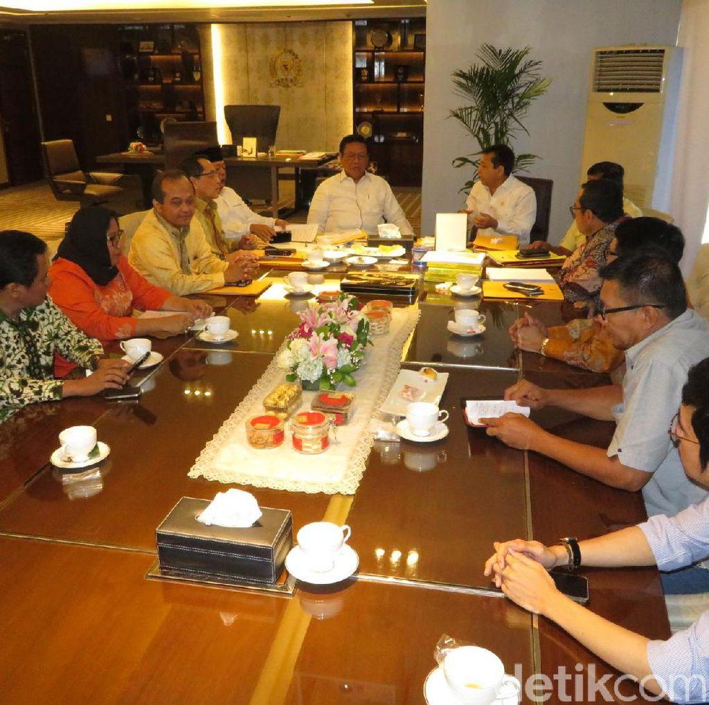 Dewan Pakar Golkar Beri Masukan soal RUU Pemilu ke Novanto