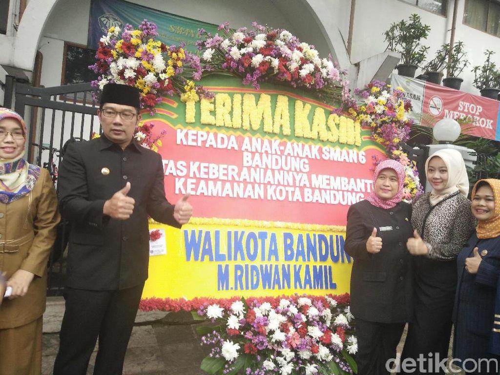 Insiden Bom Panci, Ridwan Kamil Puji Keberanian Siswa SMAN 6
