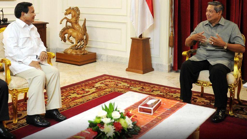 SBY Sudah Bertemu Jokowi, Kapan dengan Prabowo?