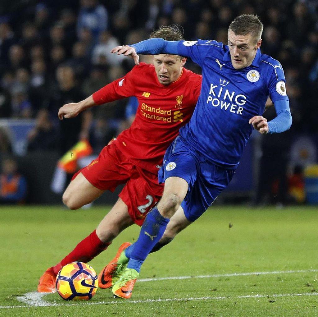 Leicester Ungguli Liverpool 2-0 di Babak Pertama