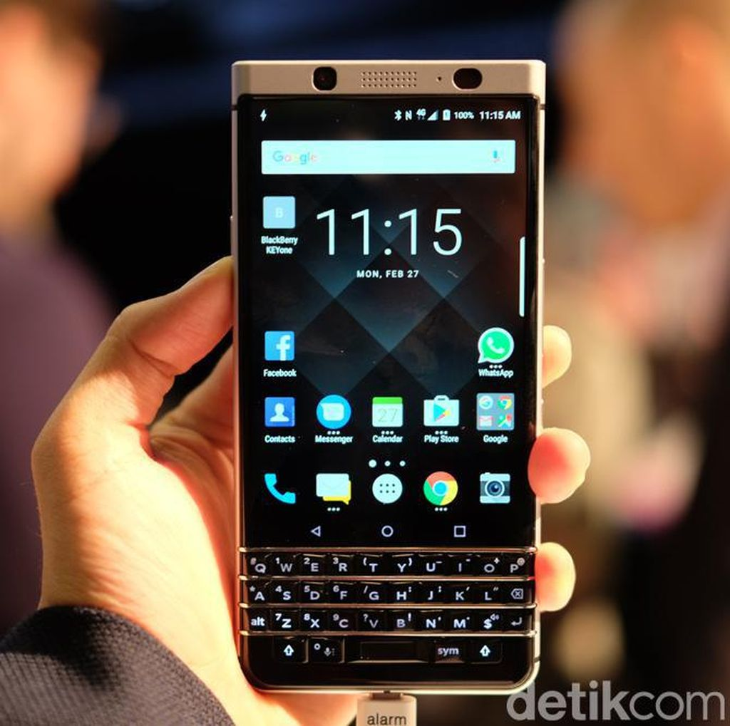 KEYone Laris Manis, BlackBerry: Luar Biasa!