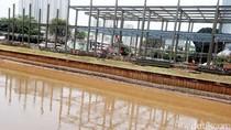 Penampakan Stasiun Kereta Bandara Sudirman Baru